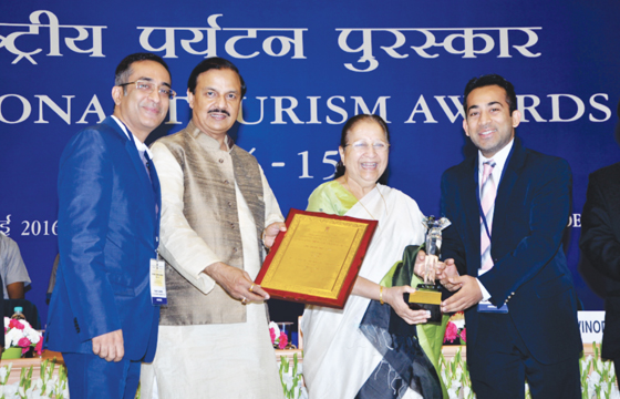 Awarded by President of India