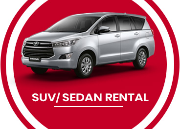 Upto 20% OFF on SUV/ SEDAN Rental