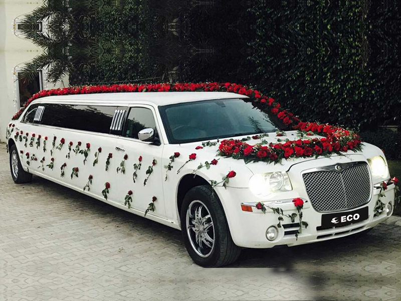 Limousine On Rent For Wedding