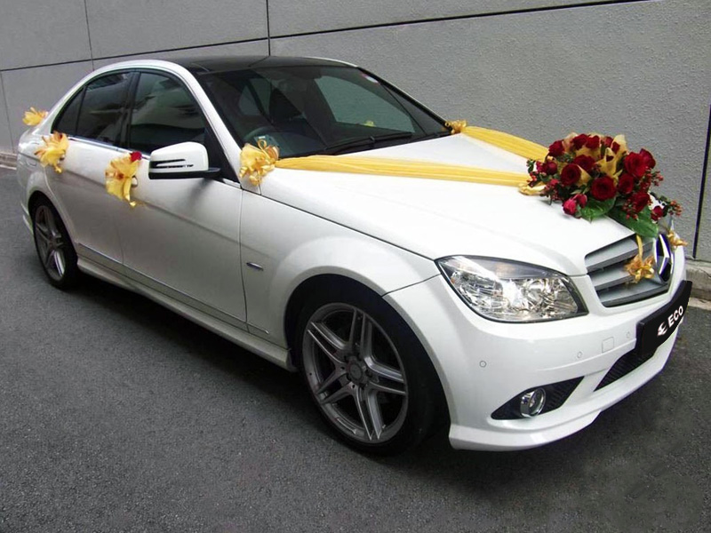 Mercedes for wedding