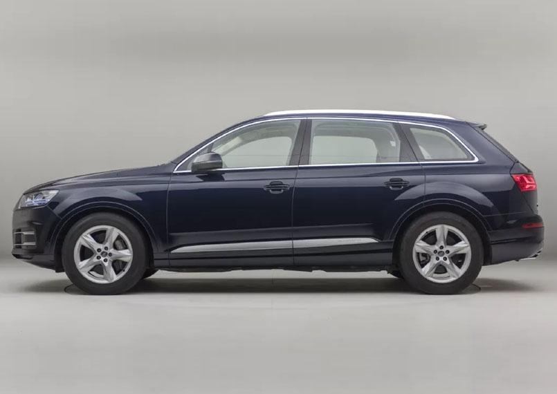 Audi Q7 rental service