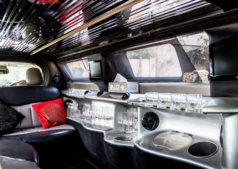 Limousine luxury Interior