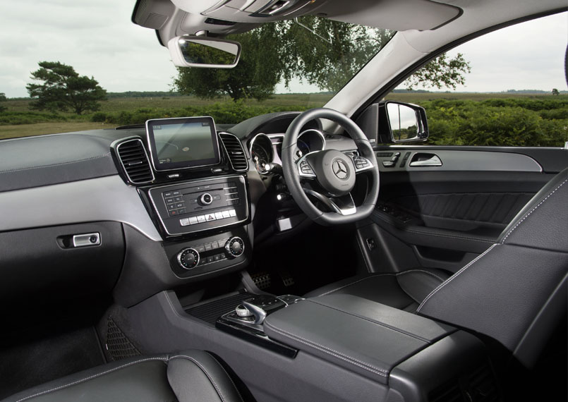 Mercedes GLE Interior Product Imgs