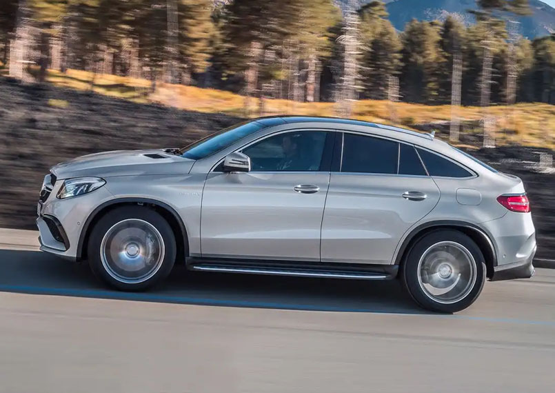 Mercedes GLE on rent