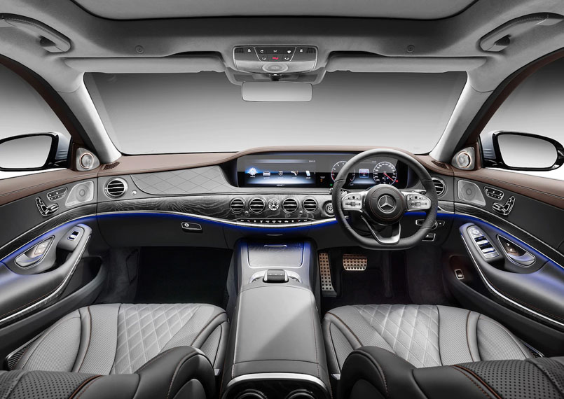 Mercedes S Class Interior Product Imgs