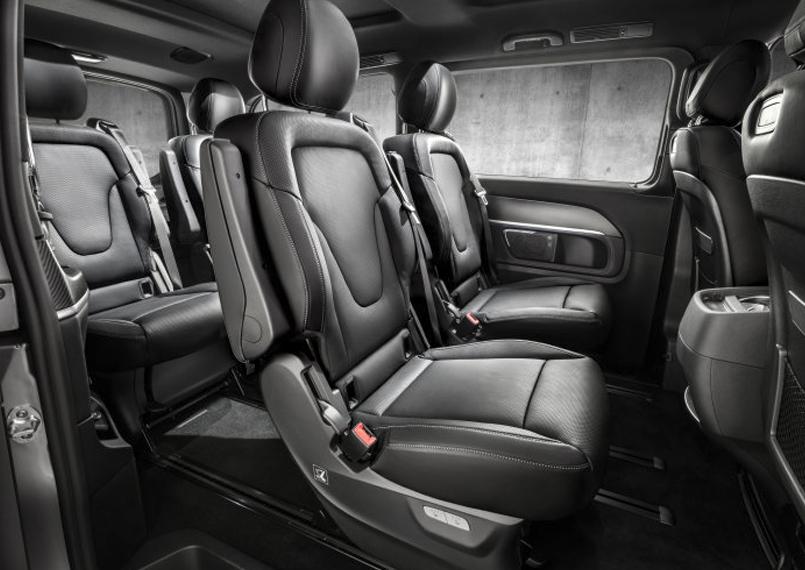 Mercedes V Class Interior 1