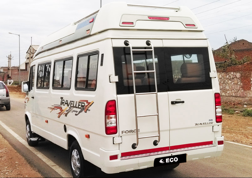 Tempo Traveller Back Product Imgs