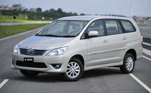 Toyota Innova on rent