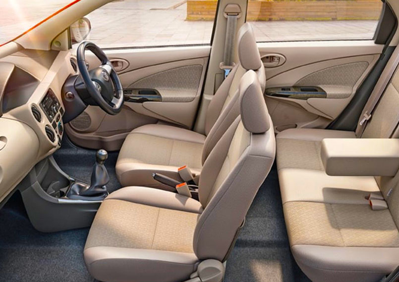 Toyota Etios Interior Product Imgs
