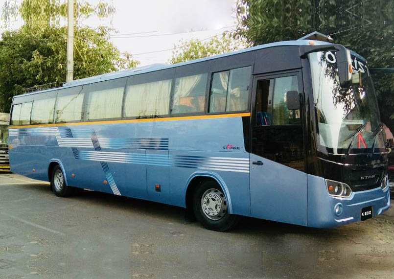 Volvo Bus 35 Seater Front Product Imgs