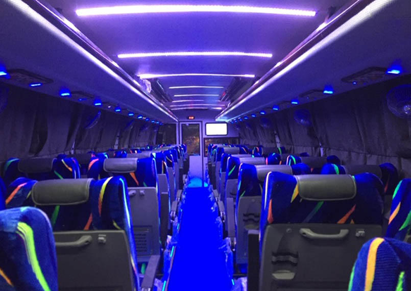 Volvo Bus 35 Seater Interior