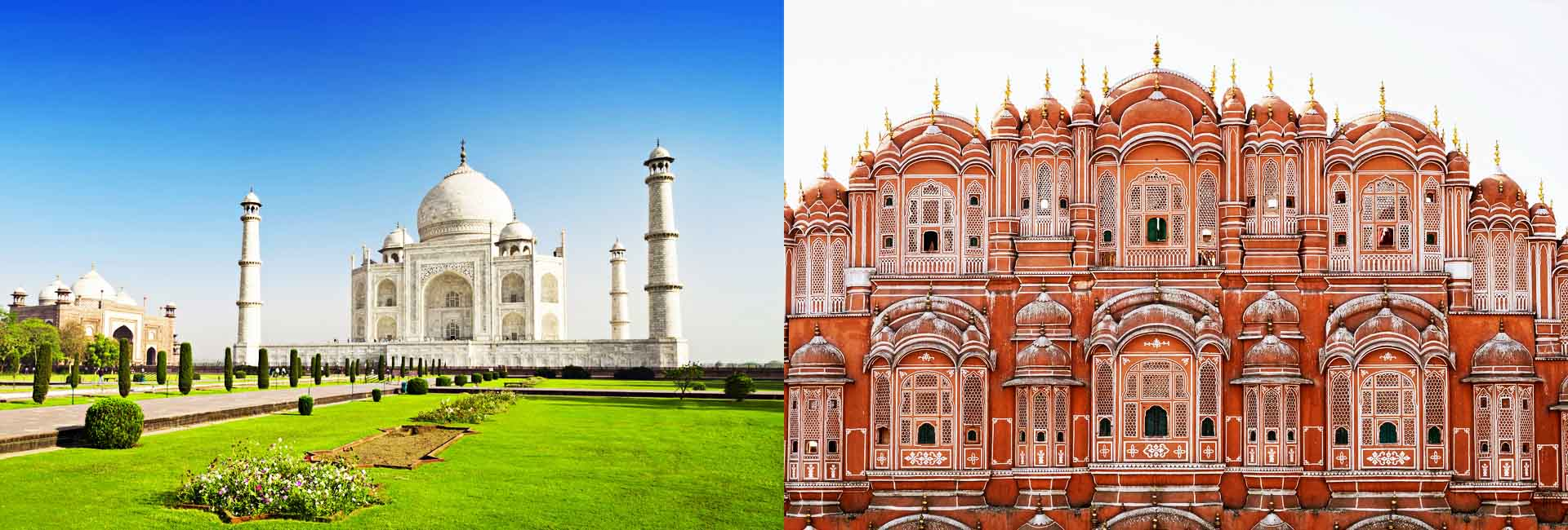 Agra Jaipur Packages Banners