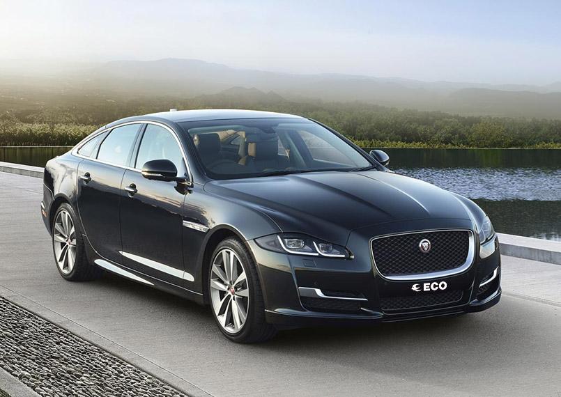 Jaguar XJL front