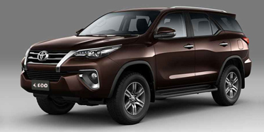 Toyota Fortuner 2019 on rent