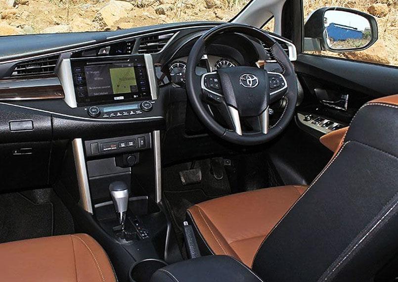 Toyota Innova Crysta Interior2 Product Imgs